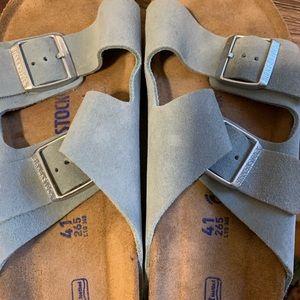 Birkenstock's Suede Sandals